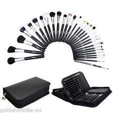 29Pcs Ovonni Professional Soft Makeup Blush Brush Cosmetic Kabuki Set Kit + Case