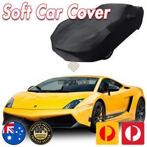 Black Show Car Dust Cover for Lamborghini Gallardo Superleggera Washable Soft