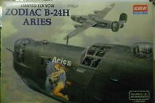 ACADEMY 1:72 KIT ZODIAC B-24H ARIES  WITH ART GRADE POSTER LIMITED ED ART 2160