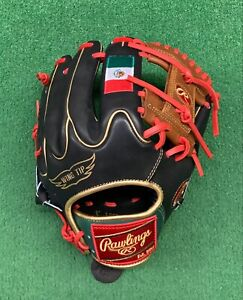 "Rawlings Heart of the Hide 11.75"" Custom Mexico Edition Baseball Infield Glove"