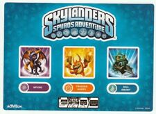 Trigger Happy Spyro & Gill Grunt Skylanders Spyro's Adventures Sticker Only!