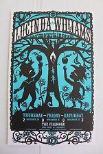 Lucinda Williams Fillmore Concert Poster from 2003 Original San Francisco Love