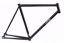 Pake Rum Runner Steel Track Bicycle Frame 55cm BLACK Fixed Gear