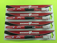Wisconsin Badgers Tooth Brush (Set of 4)