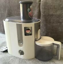 Braun J500 Identity Collection White Juicer with Jug Excellent Condition