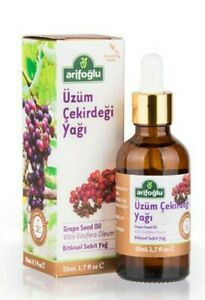 Grape Seed Oil Organic Cold Pressed Pure Natural