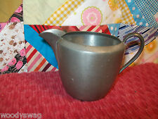 Homestead Pewter 182 Primitive Antique creamer pitcher Country