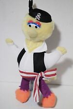 "Sesame Street 16"" Pirate Big Bird Plush Toy Doll Nanco"