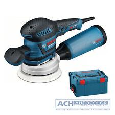 Bosch Exzenterschleifer GEX 125-150 AVE & 3 Teller & 50 Papier L-Boxx 060137B103