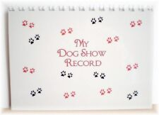 Dog Show Record Book