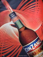 PUBLICITÉ DE PRESSE 1957 CINZANO EKTACHROME LEJEUNE - ADVERTISING