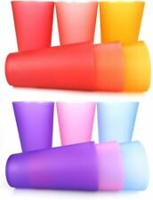 32-ounce Plastic Tumblers/Large Drinking Glasses/Party Cups/Iced Tea Glasses Set