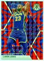 LEBRON JAMES 2019-20 Panini Mosaic BLUE REACTIVE Prizm Insert SP LA Lakers