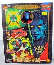 "Marvel Comics Famous Cover Series XMen Classics NIGHTCRAWLER 8"" Figure '99 NIP"