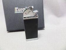 EURO JET Pipes BRIQUET - friction allumage - Noir - NEUF - 25700a