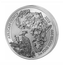 1 oz fine Silber Ruanda 2019 Schuhschnabel African Ounce 999