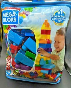 Mega Bloks Big Building Bag - 80 Piece - NEW