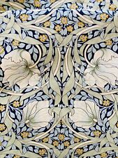 "A Lovely Green 'Pimpernel' William Morris Liberty Tana Lawn Fabric 13""x 9"""