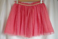 Pink Casual Tutu with Gold Band Detail (13-14 Years)