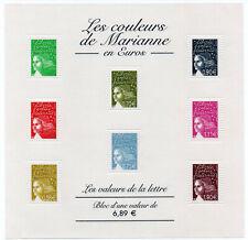 Timbres France neuf** Bloc feuillet N°67 Les couleurs de Marianne - 2004