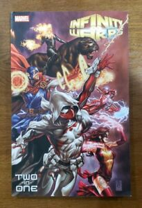 INFINITY WARPS Two-In-One TPB GN SC OOP HTF RARE 2019 Marvel Comics Mark Brooks