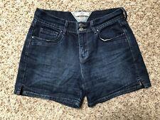 Levi's Women's Shorts 6 Dark Wash Denim