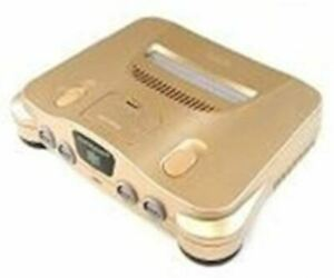 Authentic Nintendo 64 N64 (Gold) w/Controller, Cords *Cosmetic Flaw*