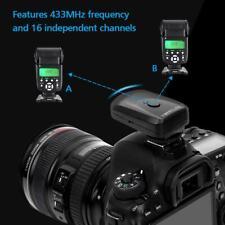 433MHZ Wireless Flash Trigger Set For Canon/Nikon/Olympus/Pentax/Sigma EF-430