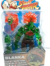 "2005 SOTA Street Fighter Round 2 Blanka 8"" Trans. Green figure new - Capcom A3"