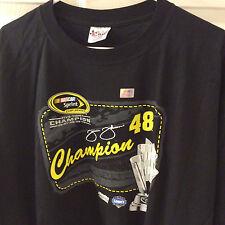 NEW   NASCAR JIMMIE JOHNSON  2010 5-TIME CHAMPION SHIRT SZ 3XL