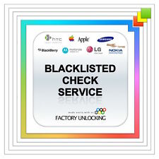 iPHONE CLEAN / BLACKLISTED / BLOCKED / BARRED STATUS INFORMATION CHECK  FASTEST