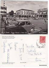 # JESOLO LIDO:   PIAZZA MARCONI E HOTEL CENTRALE   1955