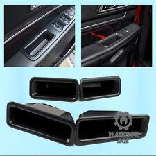 4x Inner Door Armrest Storage Box Holder Container For Ford Explorer 2016-2017