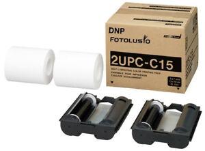 "Sony / DNP SnapLab and Sony UPCX1 5x7"" Print Kit (2UPCC15)"