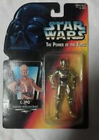 Star Wars C-3PO The Power Of The Force POTF C3PO Red Card Realistic NIB Vintage