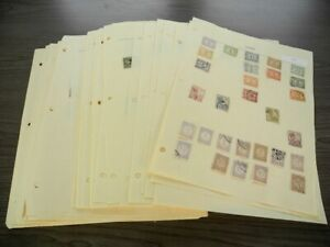 INDONESIA, SURINAM, Excellent Stamp Collection hinged on pages