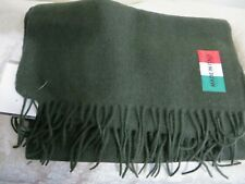 NWT MADE IN ITALY 100% WOOL SCARF