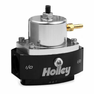 HOLLEY 12-880 Return Style Fuel Pressure Regulator 6AN Boost Reference - 1:1