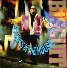 """7"""" BISCUIT Biscuit's In The House CBS Rap Swingbeat Poster-Sleeve 1990 like NEW!"""