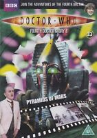 PYRAMIDS OF MARS DOCTOR WHO FILE 33 tom baker listing 50 dr DVD Combined Postage