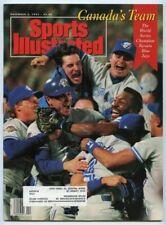 SI: Sports Illustrated November 2, 1992 The World Series: Toronto Blue Jays, VG