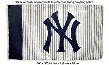 FREE SHIP TO USA New York NY Yankees  MLB BASEBALL FLAG BANNER 3x5 FEET LOGO