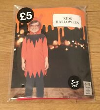 Kids Halloween costume new in bag age 3 to 5 years Free Delivery