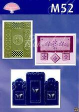 6 SCHEMI M52 PERGAMANO Luper Designs idee creative Parchment Craft pattern book