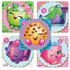 "25 Shopkins Stickers, 2.5""x2.5"" each, Party Favors"