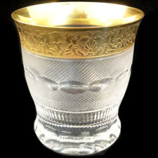 """SPLENDID by Moser Double Old Fashioned 4.2"""" tall NEW NEVER USED made in Czech"""