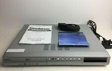 GOODMANS GDVDR 320 HDMI DUAL MEDIA DVD RECORDER/PLAYER NO REMOTE GDVDR320HDMIB
