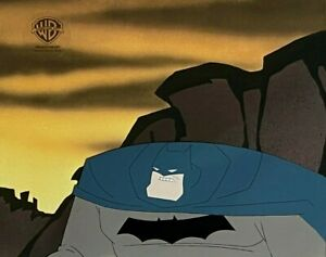 BRUCE TIMM rare BATMAN cel BUST Legends of the Dark Knight MILLER style BTAS WB