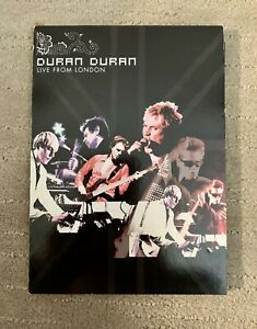 Duran Duran Live from London - Greatest Hits Concert - DVD 2005 20 tracks