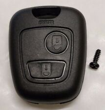 PEUGEOT 107 207 307 407 106 206 306 406 2 BUTTON REMOTE KEY FOB CASE SHELL COVER